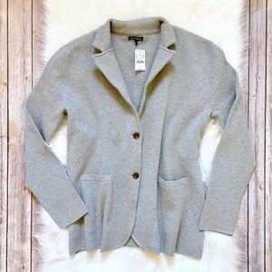 J. Crew Factory Grey Sweater Blazer